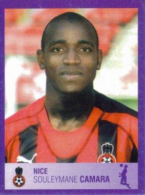 PANINI FOOTBALL 2006 (n°314) - Souleymane CAMARA