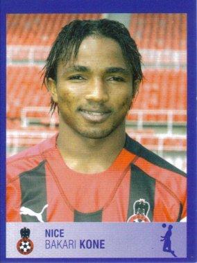 PANINI FOOTBALL 2006 (n°316) - Bakari KONE
