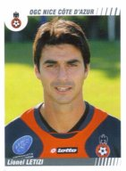 PANINI FOOTBALL 2009 (n°344) - Lionel LETIZI