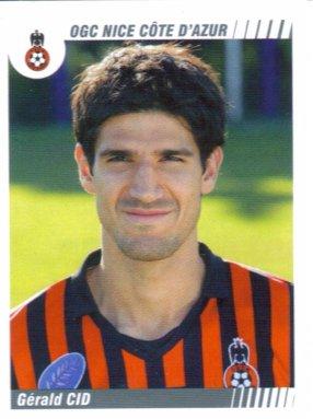 PANINI FOOTBALL 2009 (n°347) - Gérald CID