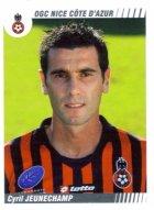 PANINI FOOTBALL 2009 (n°350) - Cyril JEUNECHAMPS