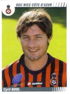 PANINI FOOTBALL 2009 (n°352) - Cyril ROOL