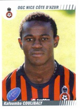 PANINI FOOTBALL 2009 (n°354) - Kafoumba COULIBALY