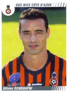 PANINI FOOTBALL 2009 (n°356) - Olivier ECHOUAFNI