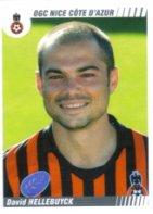 PANINI FOOTBALL 2009 (n°358) - David HELLEBUYCK