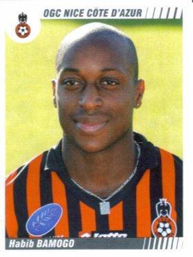 PANINI FOOTBALL 2009 (n°360) - Habib BAMOGO