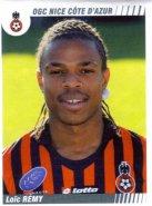PANINI FOOTBALL 2009 (n°363) - Loc REMY