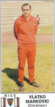 PANINI FOOTBALL 77 (n°195) - Vlatko MARKOVIC