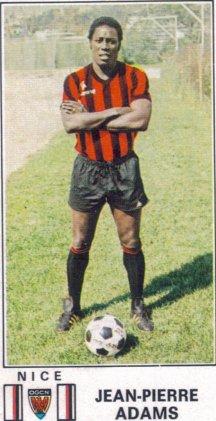 PANINI FOOTBALL 77 (n°197) - Jean-Pierre ADAMS