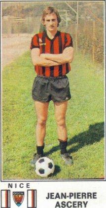 PANINI FOOTBALL 77 (n°198) - Jean-Pierre ASCERY