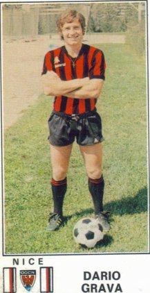 PANINI FOOTBALL 77 (n°200) - Dario GRAVA