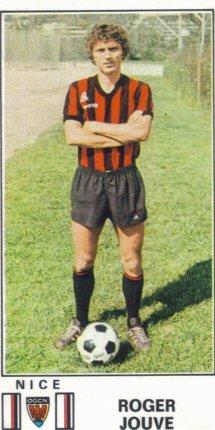 PANINI FOOTBALL 77 (n°206) - Roger JOUVE