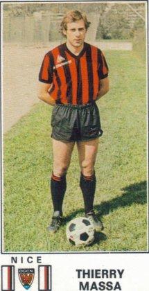 PANINI FOOTBALL 77 (n°207) - Thierry MASSA