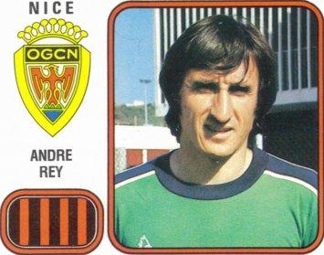 PANINI FOOTBALL 82 (n°213) - André REY