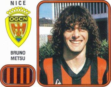 PANINI FOOTBALL 82 (n°218) - Bruno METSU