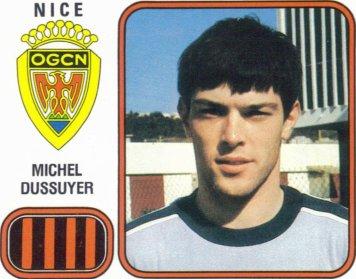 PANINI FOOTBALL 82 (n°224) - Michel DUSSUYER