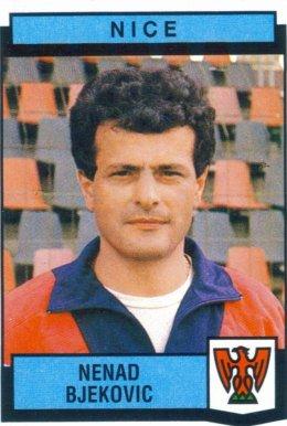 PANINI FOOTBALL 88 (n°255) - Nenad BJEKOVIC