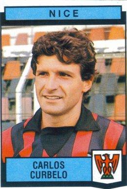 PANINI FOOTBALL 88 (n°257) - Carlos CURBELO