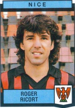 PANINI FOOTBALL 88 (n°263) - Roger RICORT