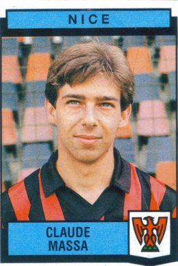 PANINI FOOTBALL 88 (n°269) - Claude MASSA