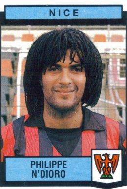 PANINI FOOTBALL 88 (n°270) - Philippe N`DIORO