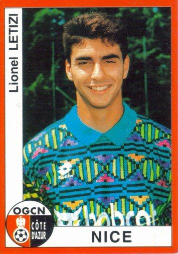 PANINI FOOTBALL 95 (n°223) - Lionel LETIZI
