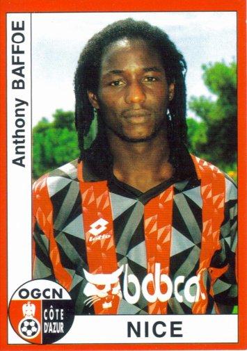PANINI FOOTBALL 95 (n°225) - Anthony BAFFOE