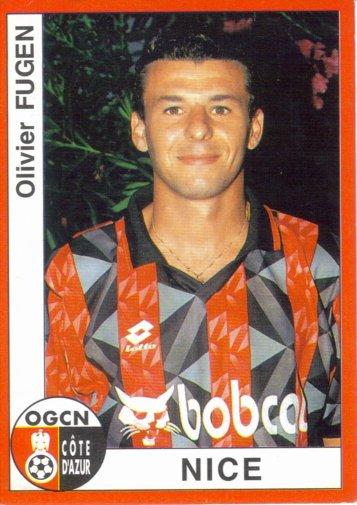 PANINI FOOTBALL 95 (n°226) - Olivier FUGEN