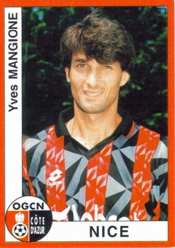 PANINI FOOTBALL 95 (n°233) - Yves MANGIONE