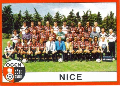 PANINI FOOTBALL 95 (n°30) - Photo d`équipe
