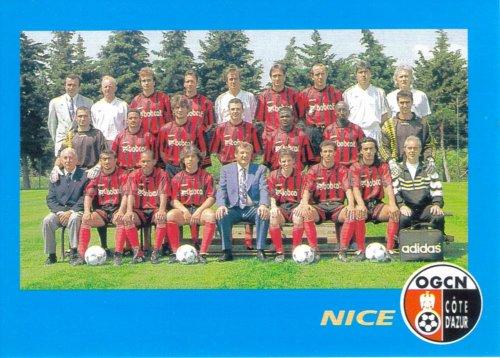 PANINI FOOTBALL 96 (n°16) - Photo d`équipe
