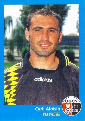 PANINI FOOTBALL 96 (n°262) - Cyril ALOSIO