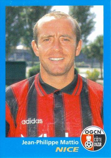 PANINI FOOTBALL 96 (n°263) - Jean-Philippe MATTIO