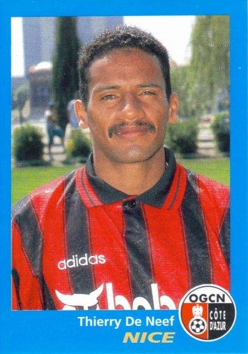 PANINI FOOTBALL 96 (n°270) - Thierry DE NEEF