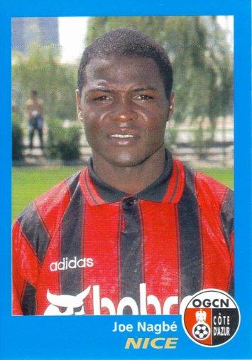 PANINI FOOTBALL 96 (n°272) - Joe NAGBE