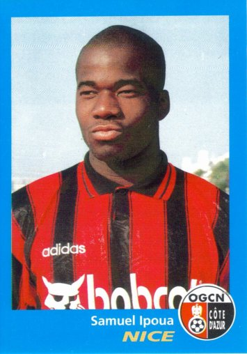 PANINI FOOTBALL 96 (n°275) - Samuel IPOUA