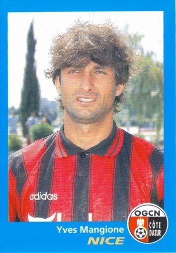 PANINI FOOTBALL 96 (n°276) - Yves MANGIONE